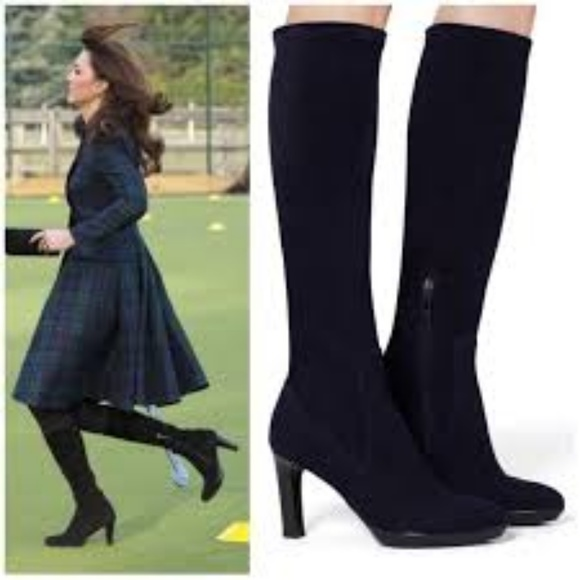 1906436a93f Aquatalia Shoes - Aquatalia Rhumba Suede Tall Boot - 6.5